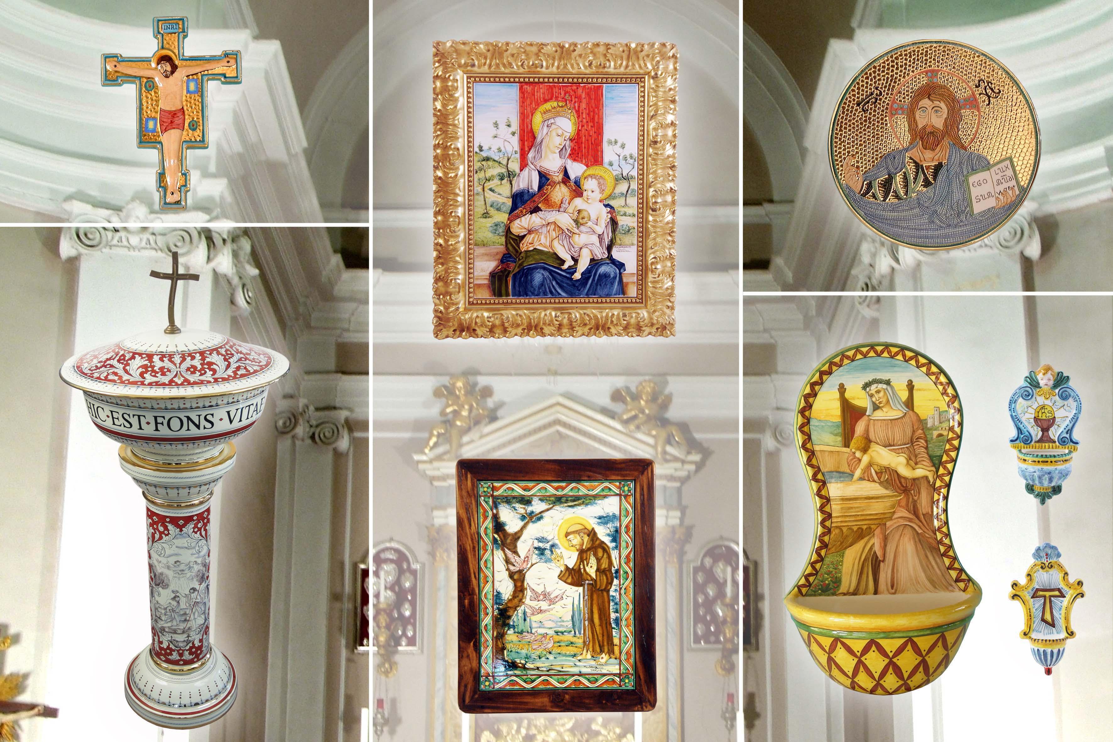 Sambuco Arte Sacra Deruta Arredamento e oggettistica