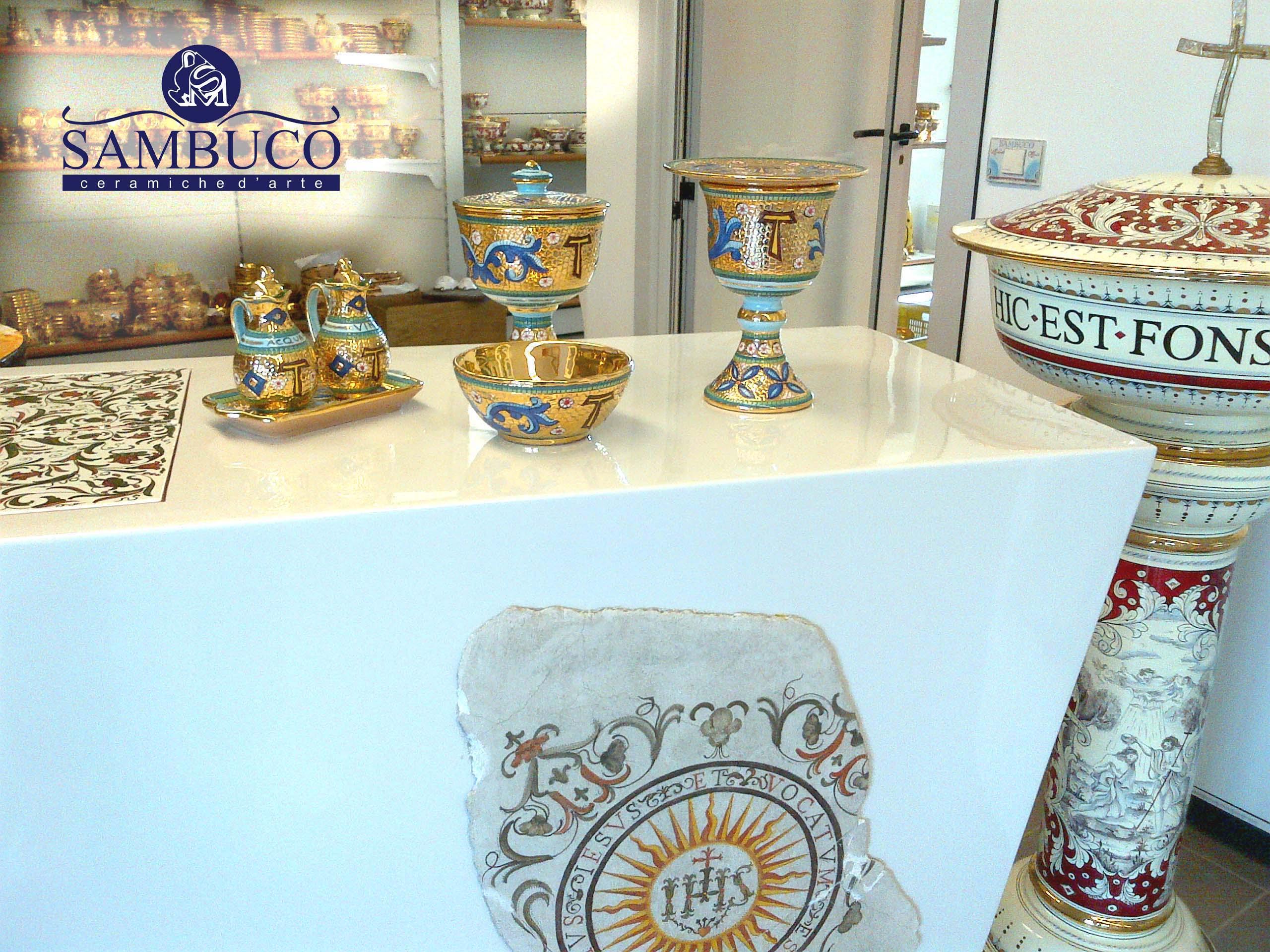 Sambuco Arte Sacra Deruta Esposizione Show-Room