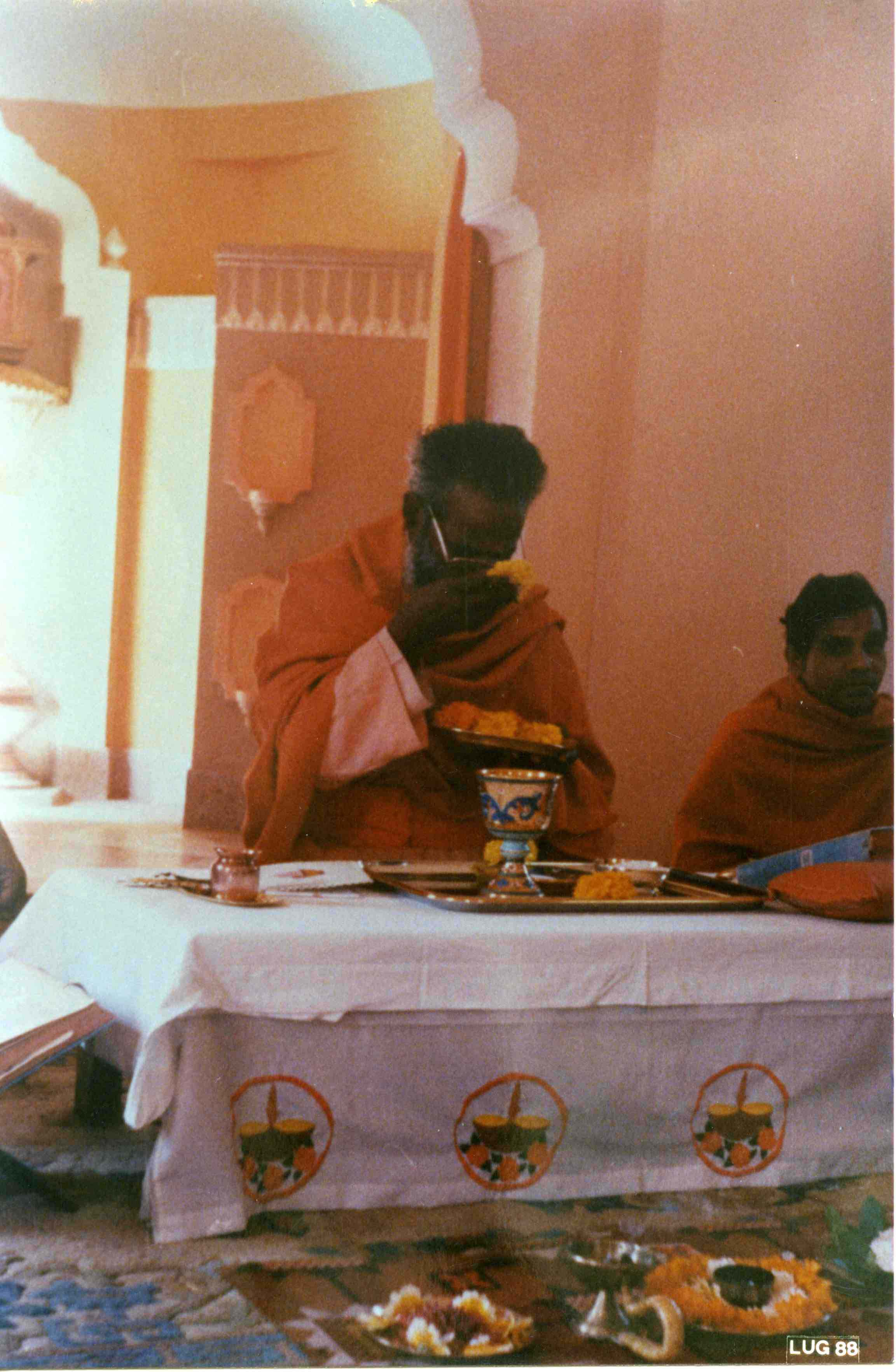 Sambuco Arte Sacra Deruta India 1988 Calice bizantino con Tau
