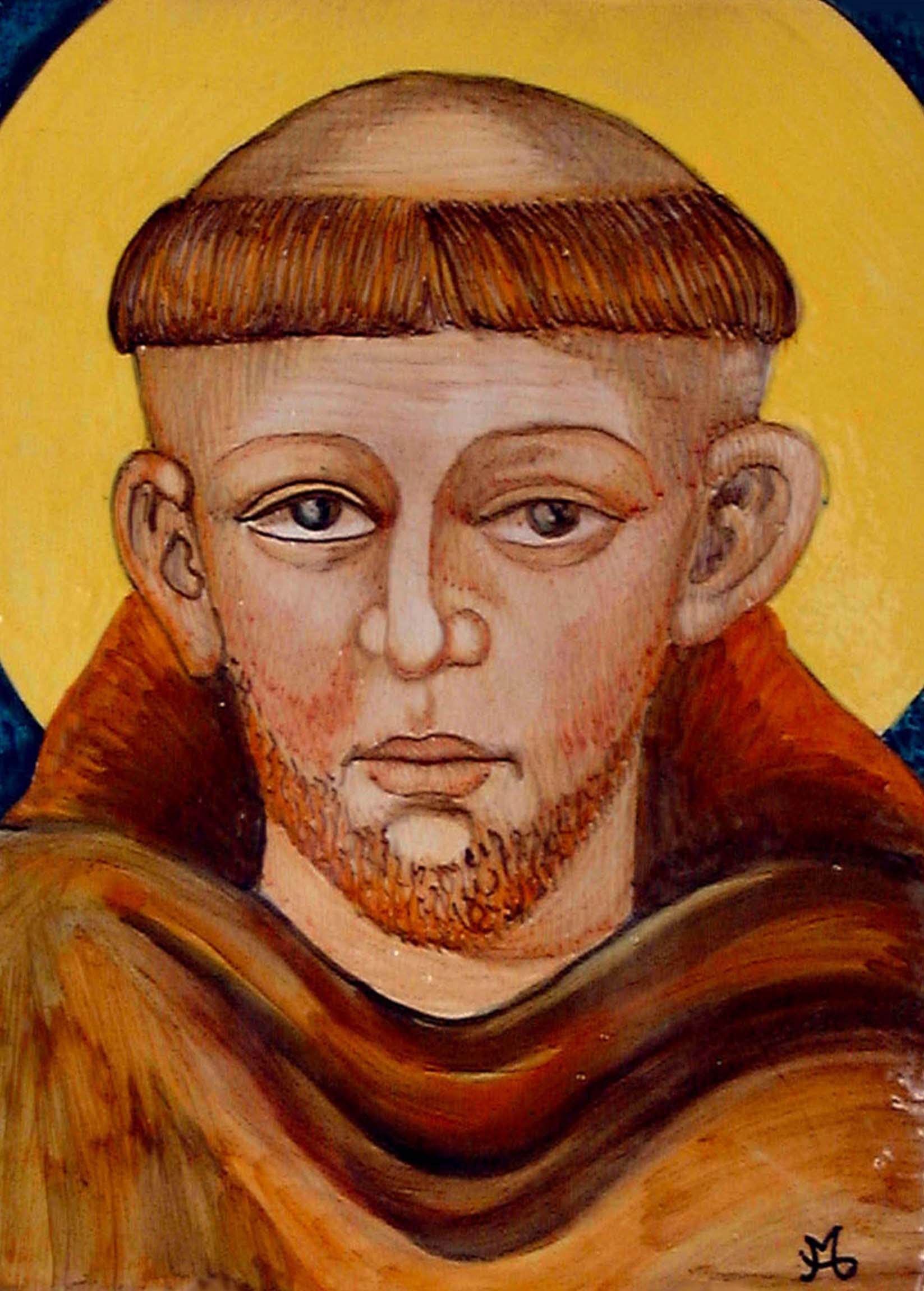Sambuco Arte Sacra Deruta San Francesco d'Assisi Cimabue