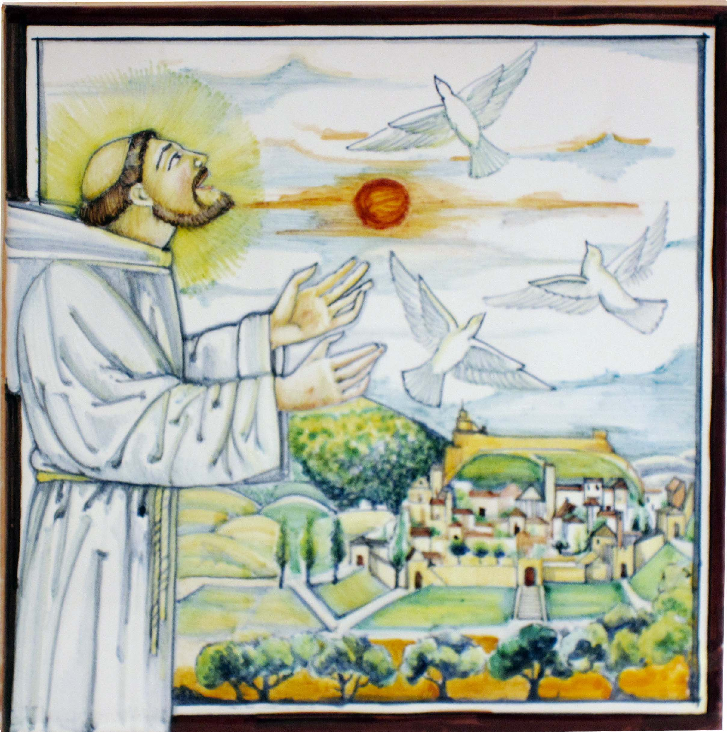 Sambuco Arte Sacra Deruta San Francesco d'Assisi Tortore