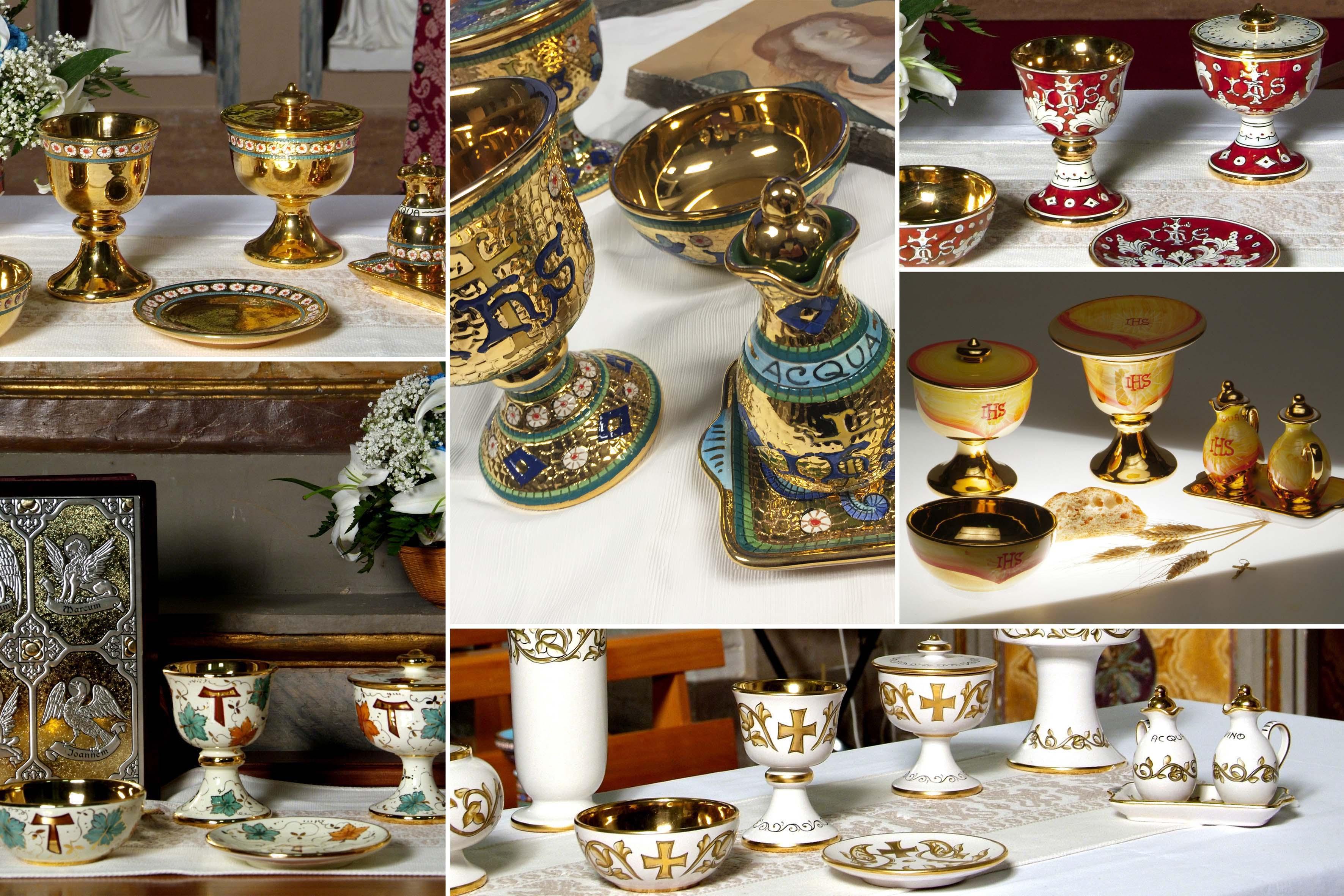 Sambuco Arte Sacra Deruta Vasi Sacri Servizi per liturgia