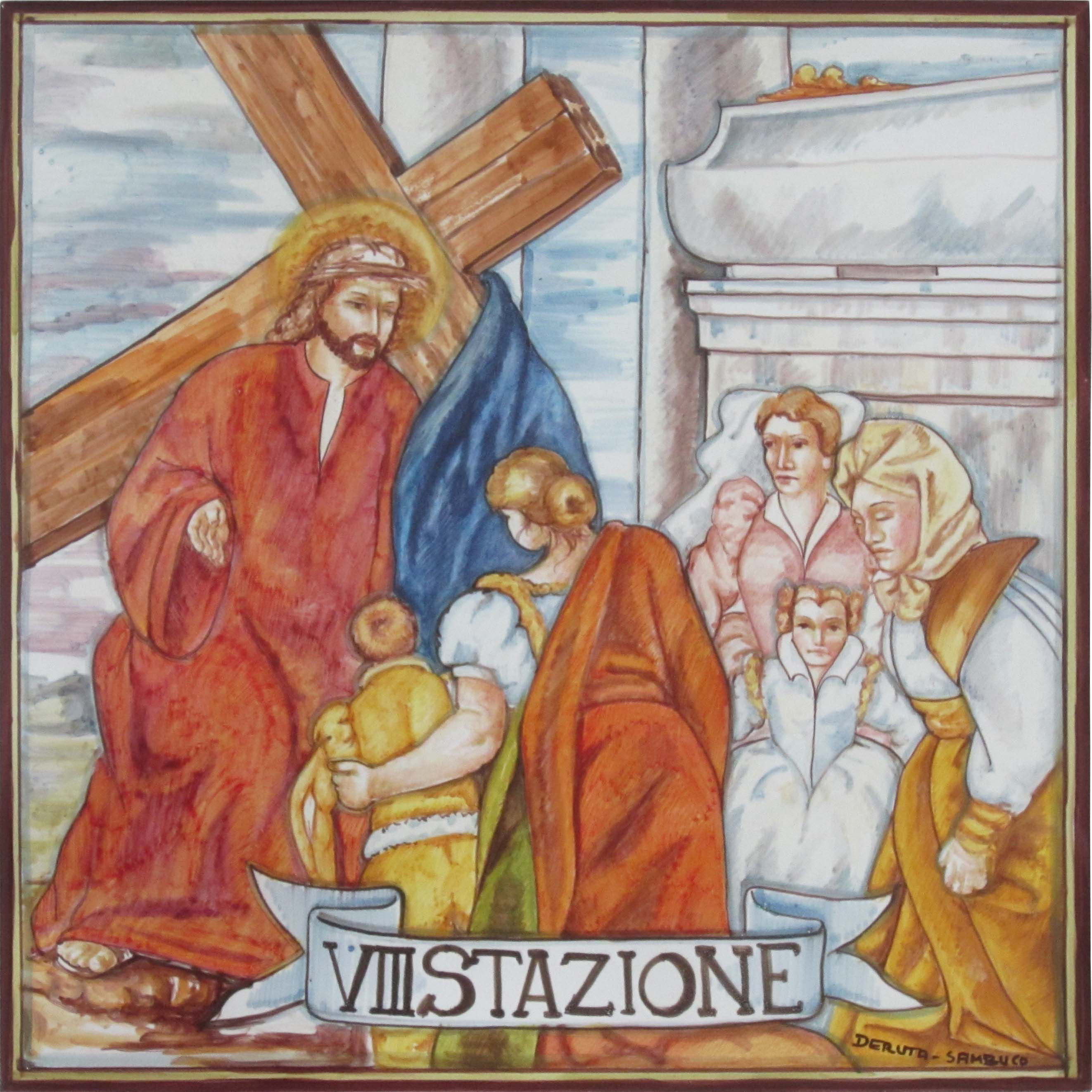 Sambuco Arte Sacra Deruta Via Crucis Stations of the Cross 02
