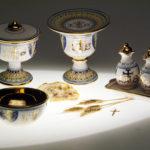 Sambuco Sacred Art Deruta Vario e oro