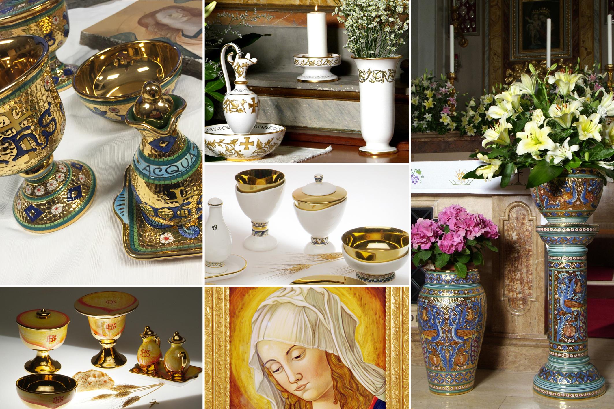 Sambuco Arte Sacra Deruta Shop online Catalog Store